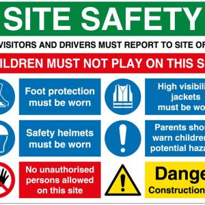 WORKPLACE & SITE SAFETY SIGNS